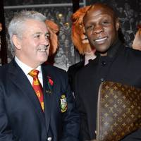 Warren Gatland and Chris Eubank
