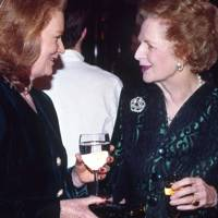 Mrs John Asprey and Baroness Thatcher