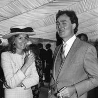 The Hon Mrs Michael Pearson and John Bentley