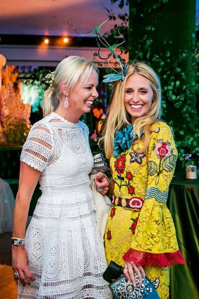 Aimee Salmi and Pia Miller Getty