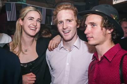 Clemmie St John Webster, Matthew Guinness and Sam Guinness