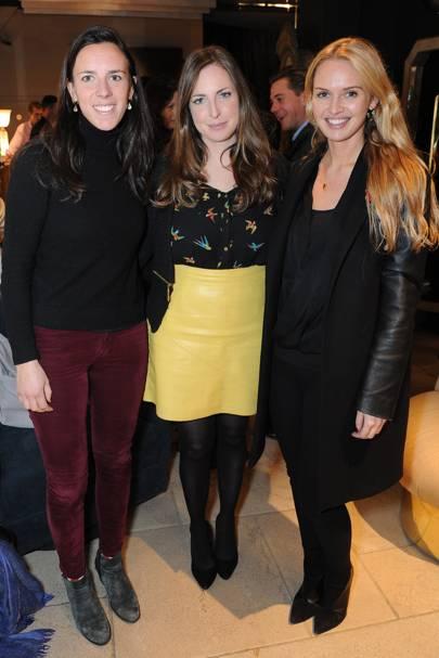 Leonora De Ferranti, Rose Farquhar and Alexandra Finlayson