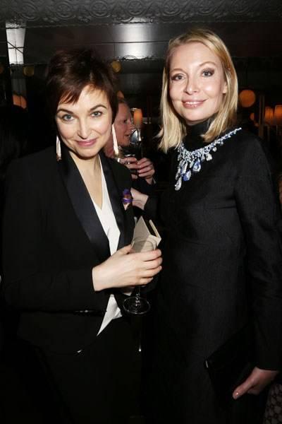 Karina Dobrotvorskaya and Viktoria Davydova