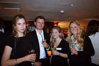 Lara Prendergast, Will Haig, Victoria Ferran and Abbie Crossman