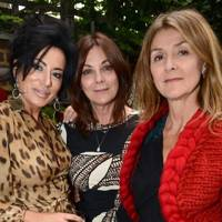 Nancy Dell'Olio, Susan Young and Tiggy Maconochie