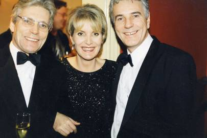 Anton Hardcastle, Elizabeth Saunders and Paul Hardcastle