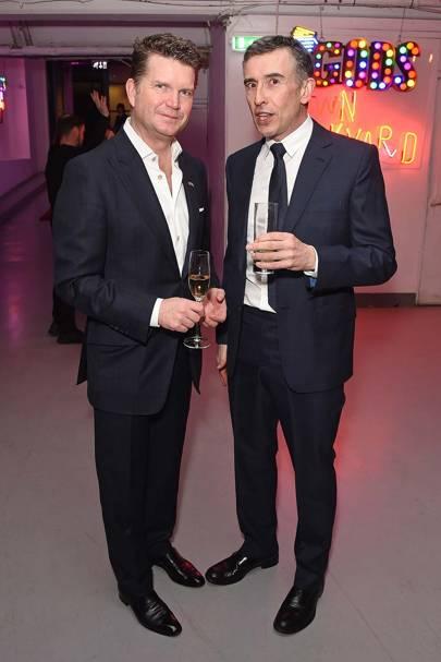 Matthew Barzun and Steve Coogan