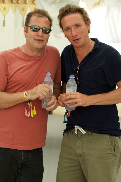Matthew Freud and Johnny Hornby