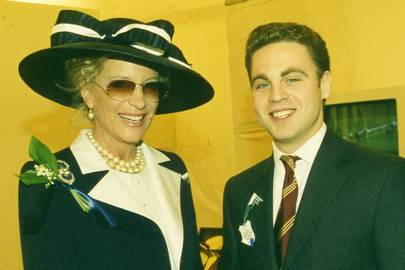 Princess Michael of Kent and Khaled Said