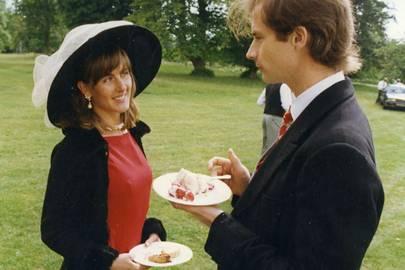 Mrs Hugh Godsal and Hugh Godsal