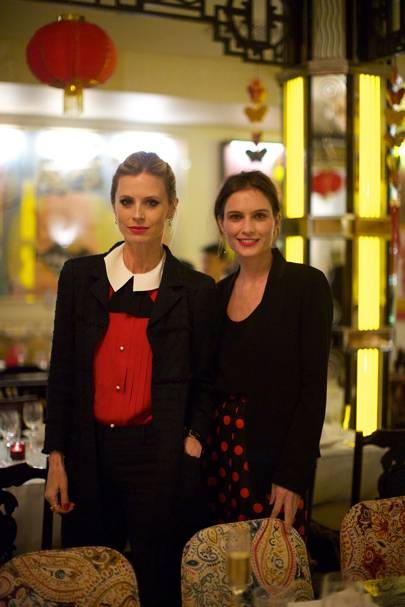 Laura Bailey and Sheherazade Goldsmith