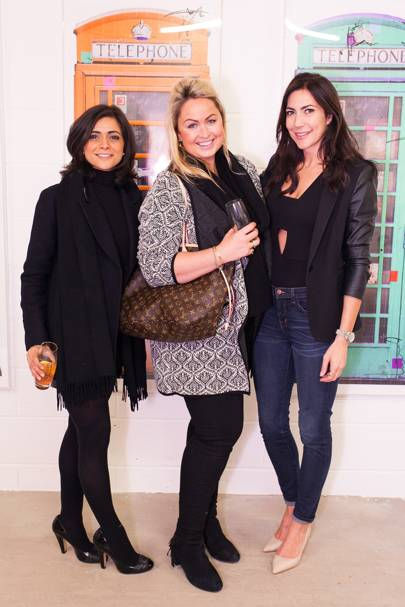 Lucy Verasamy, Sinclair Sellars and Louise Cole