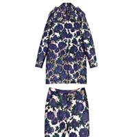 Jacquard & lurex jacket, £820, jacquard & lurex trousers, £345, by MSGM