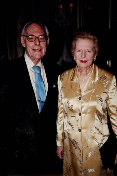 Sir Denis Thatcher and Baroness Thatcher