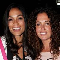Rosario Dawson and Tara Smith