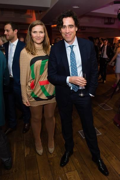 Jessica Hynes and Stephen Mangan