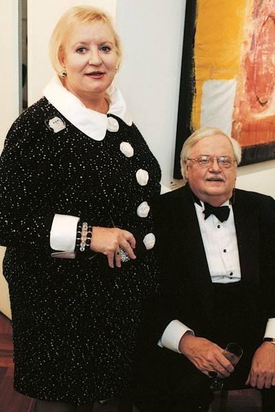 Mrs Scottie Dunbar and Scottie Dunbar
