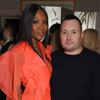 Naomi Campbell and Kim Jones