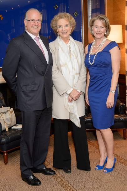 Carletto O'Donnell, Princess Michael of Kent and Lucy O'Donnell