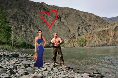 Wendi Deng And Vladimir Putin S First Date Wendi Deng And Vladimir Putin Dating Tatler Funny Tatler