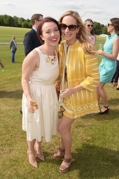 Daisy Lewis and Joanne Froggatt