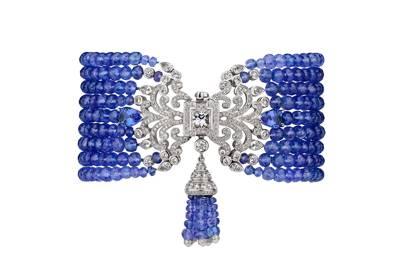Tanzanite bracelet, POA, Garrard