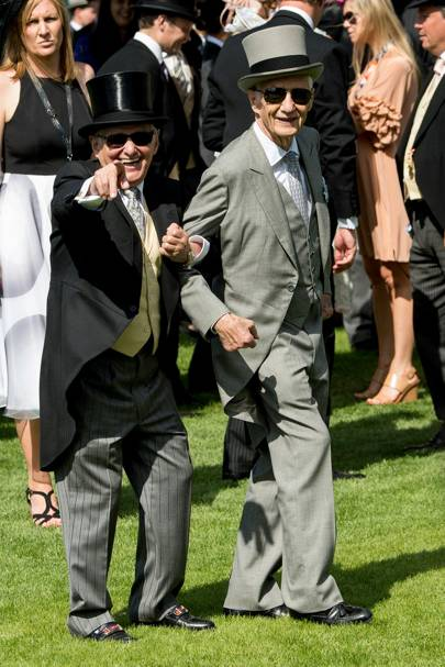 Willie Carson and Lester Piggott