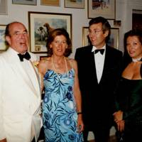 Richard Hawkins, Mrs Richard Hawkins, David MacLure and Mrs David MacLure