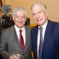 David Bernstein and Sir Trevor Brooking