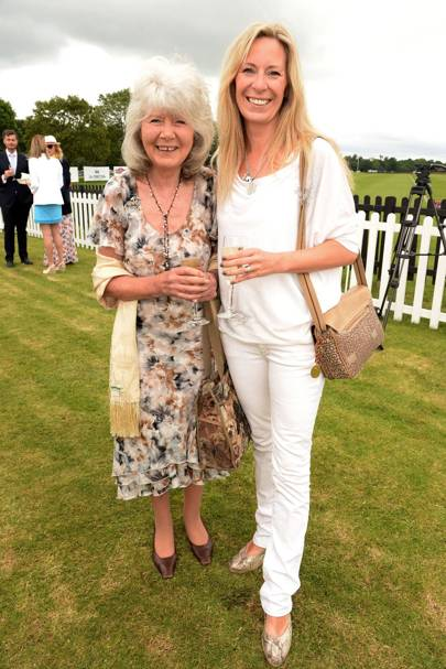 Jilly Cooper and Emily Tarrant