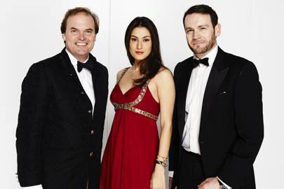 Lord Harry Dalmeny, Samira Javadova and Julian Farrow