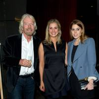 Sir Richard Branson, Holly Branson and Princess Beatrice