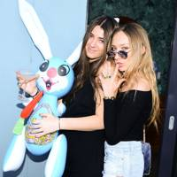 Kyra Kennedy, 22 (left, with Gaia Jacquet-Matisse)