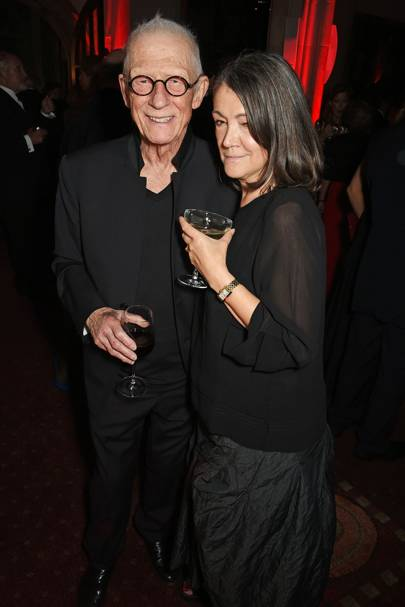 John Hurt and Anwen Rees-Myers