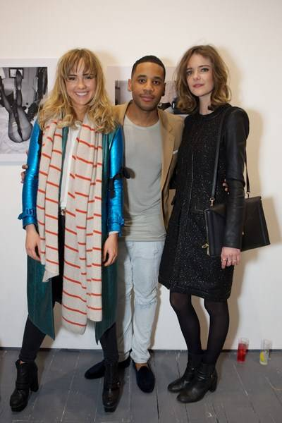 Suki Waterhouse, Reggie Yates and Imogen Morris Clarke