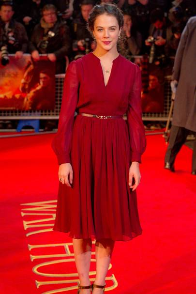 At the War Horse premiere, London, 2012