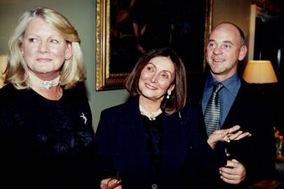 Antoinette Pardo, Mrs John Chamberlain and Philip Wentworth