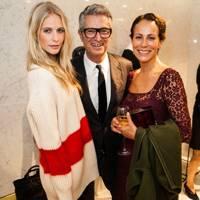 Poppy Delevingne, Serge Cajfinger and Andrea Dellal