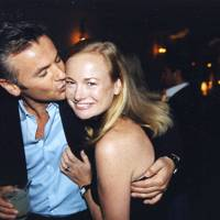 Giles Baker and Anna Bilton