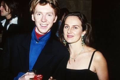 Philip Treacy and Nicola Jeal