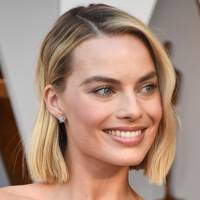 Margot Robbie in Chanel at the Oscars - after being announced as their ambassador