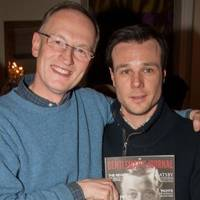 Alastair Bruce and Rupert Evans