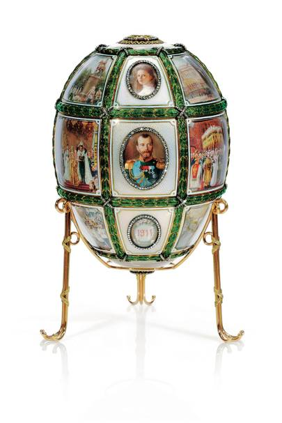 Fifteenth Anniversary Easter Egg, House of Fabergé, 1911