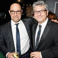 Stanley Tucci and Jason Solomons