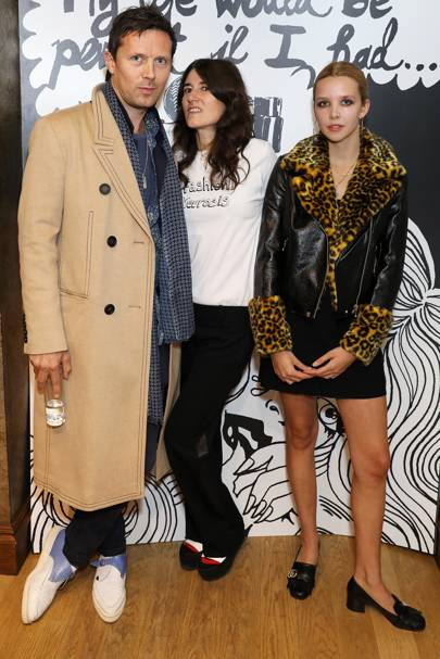 Robert Montgomery, Bella Freud and Greta Bellamacina