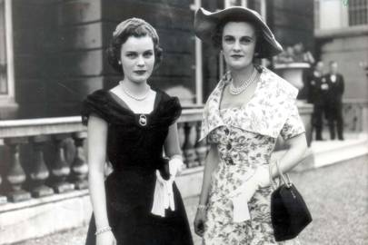 With Frances in 1953