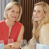 Bec Astley Clarke and Poppy Delevingne