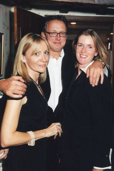 Mrs Jeremy Alun-Jones, Rory Scott and Mrs Andrew Salter