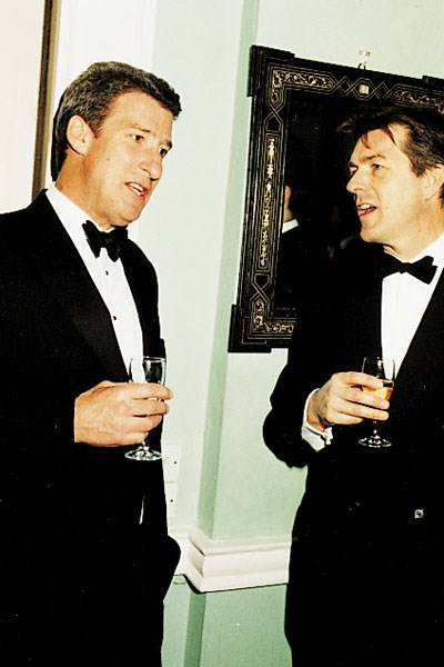 Jeremy Paxman and Mr Roddy Orr