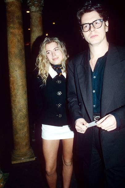 Amanda de Cadenet and John Taylor